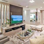Desain Interior Ruang Tamu Sekaligus Ruang Keluarga