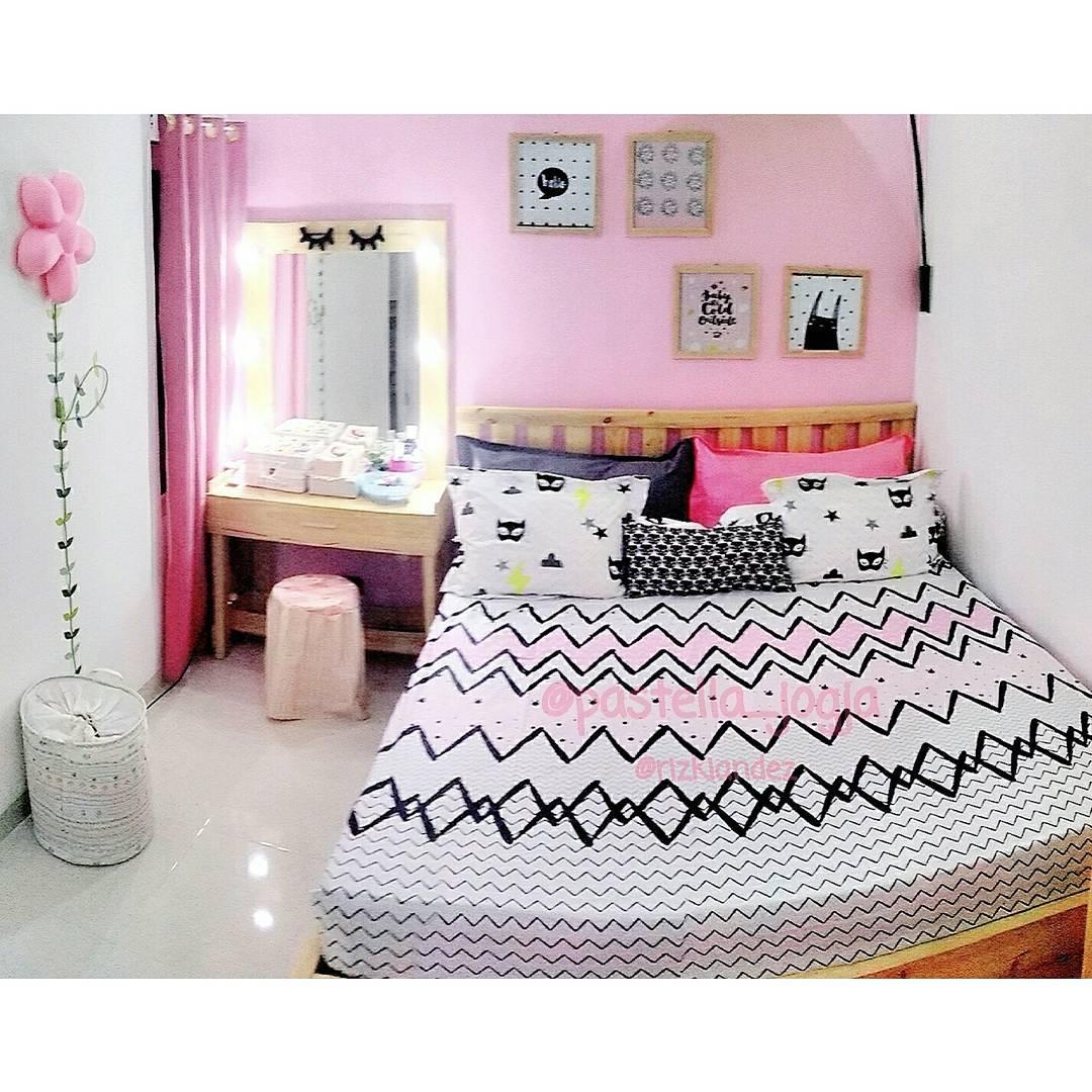 Desain Kamar Tidur Anak Perempuan Sederhana: Desain Dinding Kamar Anak Perempuan 45 Dekorasi Kamar Anak