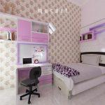 Desain Kamar Anak Perempuan Sederhana Simpel