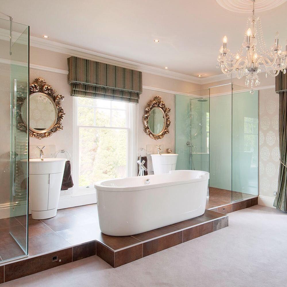 22 desain kamar mandi mewah modern terbaru 2018 keren for Dekor kamar hotel