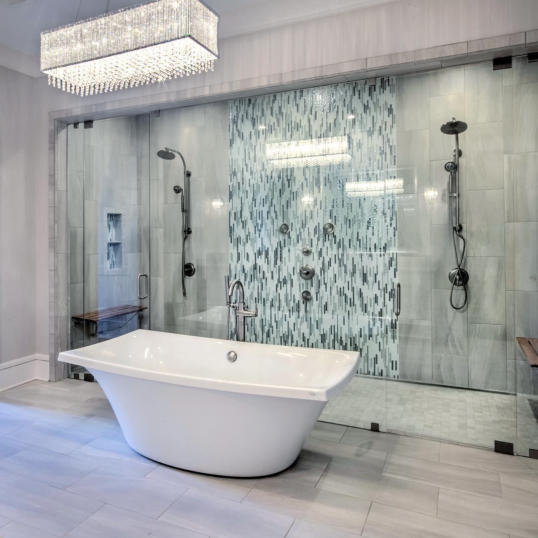 22 desain kamar mandi mewah modern terbaru 2019 keren | dekor rumah