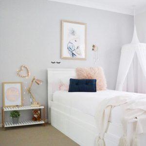 45 dekorasi kamar anak perempuan minimalis lagi ngetrend