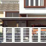 Desain Pagar Minimalis Rumah Minimalis Terbaru