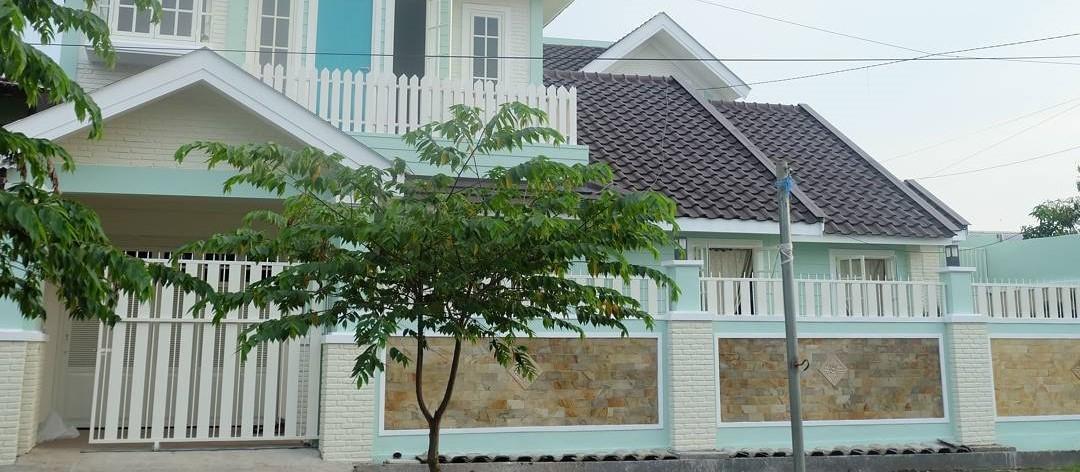 Desain Pagar Tembok Batu Alam Minimalis Terbaru Rumah Shabby Chic Mewah