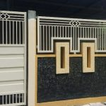 Desain Pagar Tembok Dan Besi Rumah Minimalis Type 36
