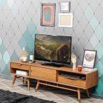 Desain Rak Tv Kayu Klasik Minimalis