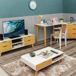 Desain Ruang TV Scandinavian Terbaru