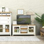 Desain Ruang Keluarga Dengan Rak Tv Minimalis