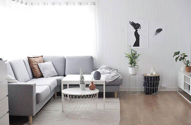 Desain Ruang Tamu Moden Minimalis