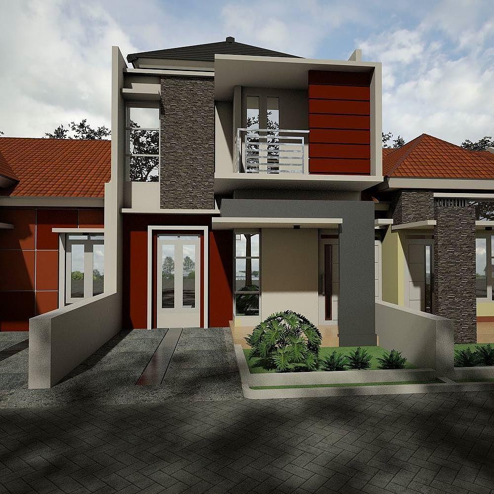 92+ Gambar Desain Rumah Tingkat 2 Bagian Belakang Paling Keren Unduh