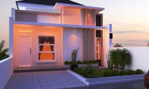 Desain Rumah Minimalis Type 36 1 Lantai Mewah