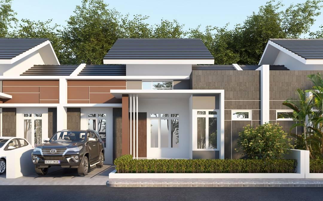 Desain Rumah Minimalis Type 45 1 Lantai & 18 Desain Rumah Minimalis Type 36 dan 45 Terbaru 2018 | Dekor Rumah