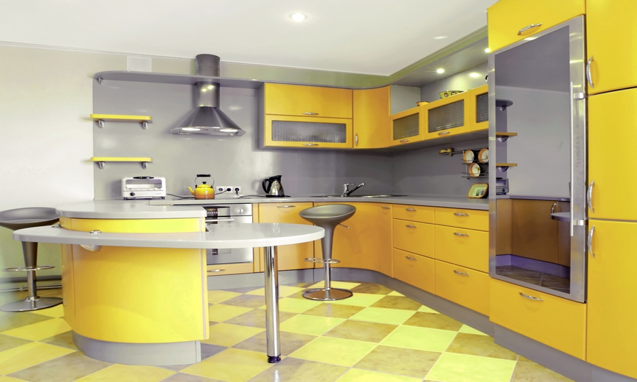 Gambar Kitchen Furniture Warm Home Design