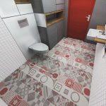 Gambar Kamar Mandi Minimalis Dengan Keramik Lantai Terbaru