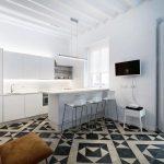 Gambar Kitchen Set Minimalis Dengan Keramik Dapur Terbaru