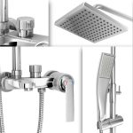 Harga AER Mixer Bathub Shower Set (Wall+Hand Shower+Bathub) Panas Dingin, Kran Air, Keran MBS 1
