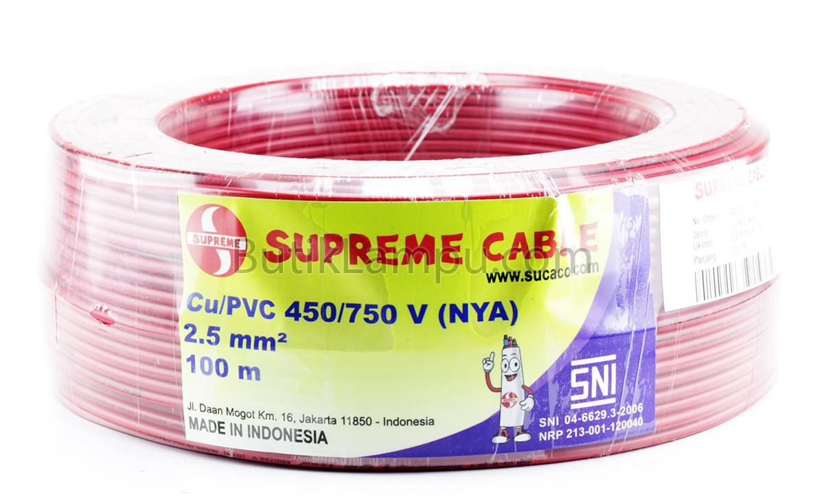 Harga Kabel Listrik Superme NYA