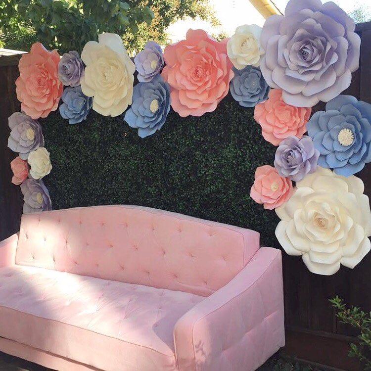 DIY Cara Membuat Bunga Dari Kertas Untuk Hiasan Dinding