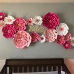 Hiasan Dinding Kamar Buatan Sendiri Berbentuk Bunga