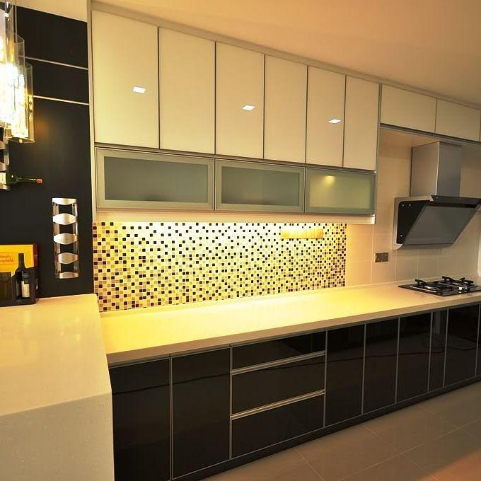 18 model dapur sederhana minimalis dengan kitchen set