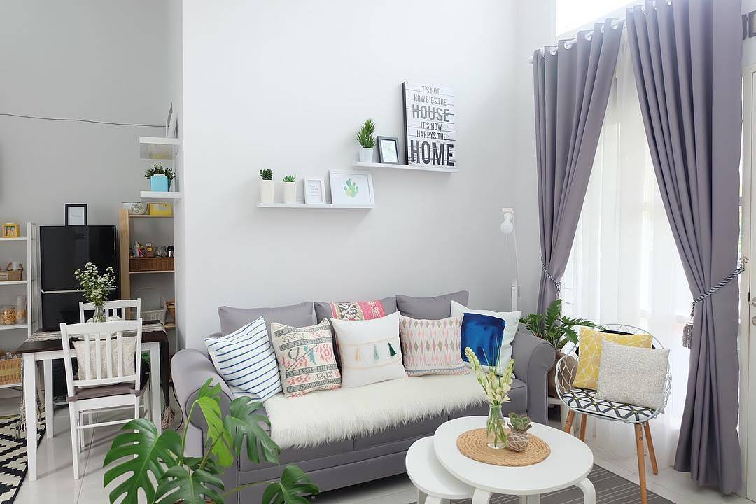 Interior Ruang Tamu Minimalis Kecil