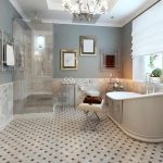 Kamar Mandi Mewah Dengan Keramik Lantai Kamar Mandi Yang Terbaru