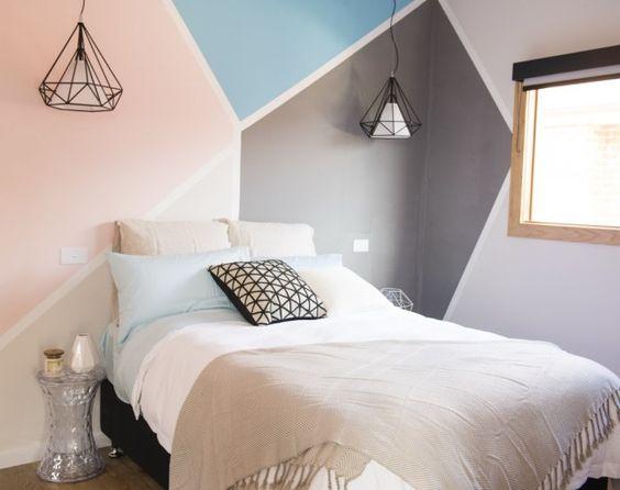 40 ide warna cat kamar tidur yang lagi ngetrend 2018 dekor rumah. Black Bedroom Furniture Sets. Home Design Ideas