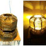 Lampu Hias Dari Stik Es Krim Gaya Modern