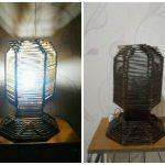 Lampu Hias Dari Stik Es Krim Terbaru