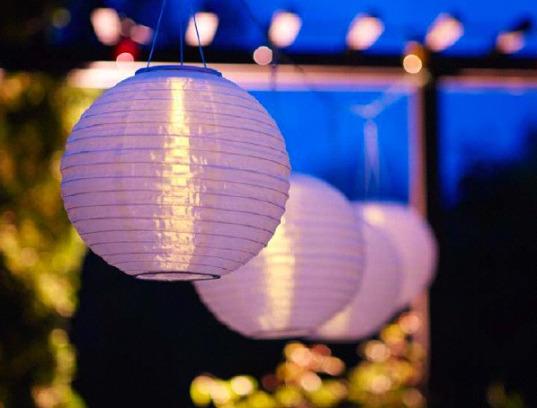Lampu Taman Minimalis Beserta Harga Berbentuk Bulat