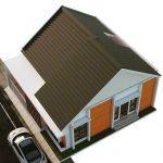 Model Atap Rumah Minimalis Terbaru Dengan Genteng Flat