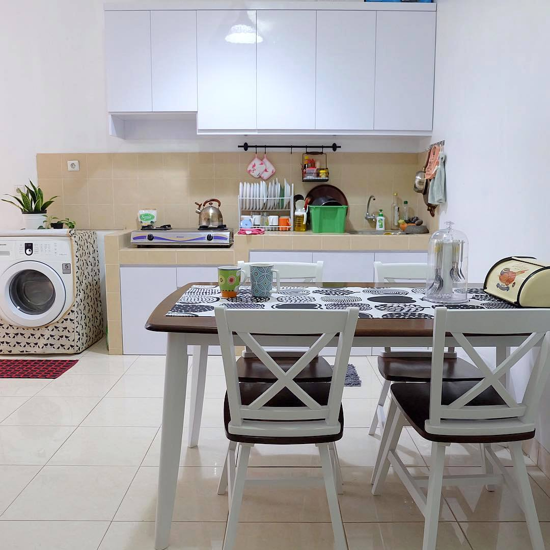 27 Desain Dapur Minimalis Modern Terbaru 2019