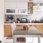 Model Dapur Sederhana Menyatu Dengan Ruang Makan
