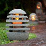 Model Lampu Taman Unik