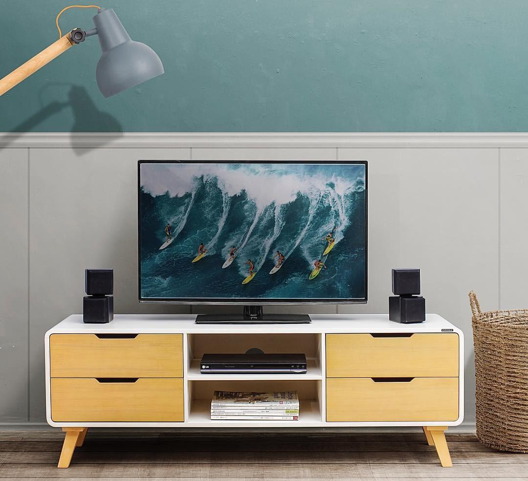 32 Model Meja Tv Modern Minimalis Terbaru 2018 Lagi Ngetrend  # Modele De Meuble De Television