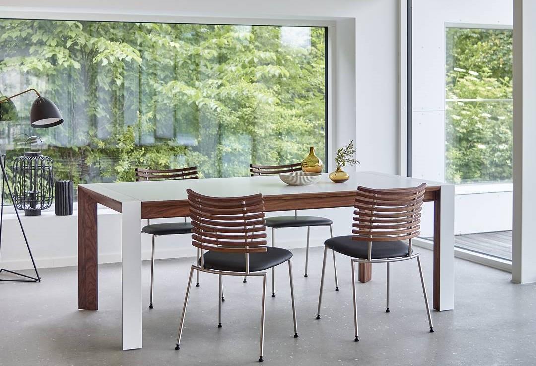 32 model meja makan minimalis terbaru 2017 kayu kaca