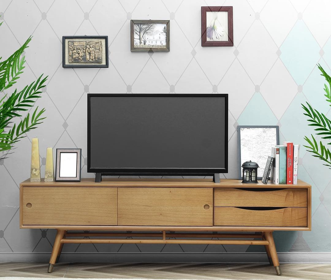 32 Model Meja Tv Modern Minimalis Terbaru 2018 Lagi Ngetrend  # Promo Meuble Tv Design Sultan