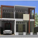 Model Rumah Minimalis 2 Lantai Sederhana Tapi Kelihatan Mewah Dengan Tanpa Atap