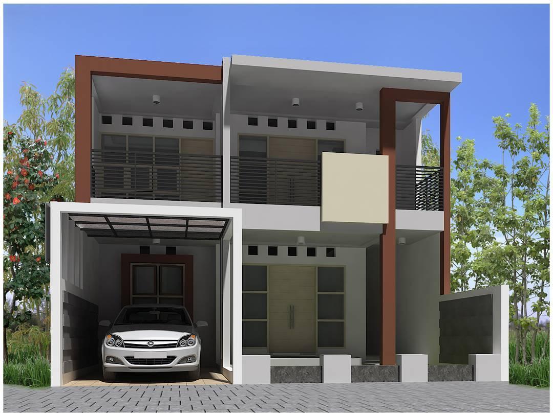 Permalink to 15+ Contoh Rumah Minimalis 2 Lantai Tanpa Atap Genteng