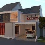 Model Rumah Minimalis Sederhana Dengan Tiang Teras Yang Bagus