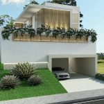 Model Rumah Minimalis Tanpa Atap Dengan Taman Depan Rumah Yang Unik
