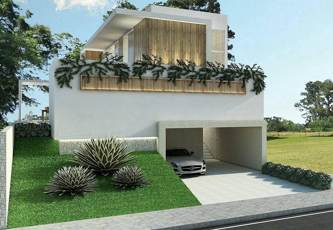 Gambar Rumah Minimalis 1 Lantai Tanpa Atap Desain Rumah