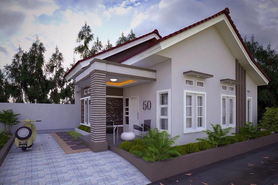 18 desain rumah minimalis type 36 dan 45 terbaru 2017