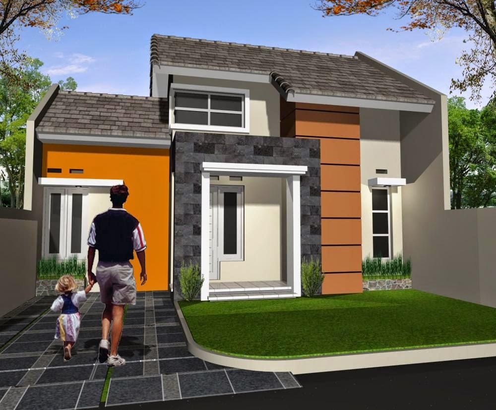 21 model rumah sederhana tapi kelihatan mewah terbaru 2017