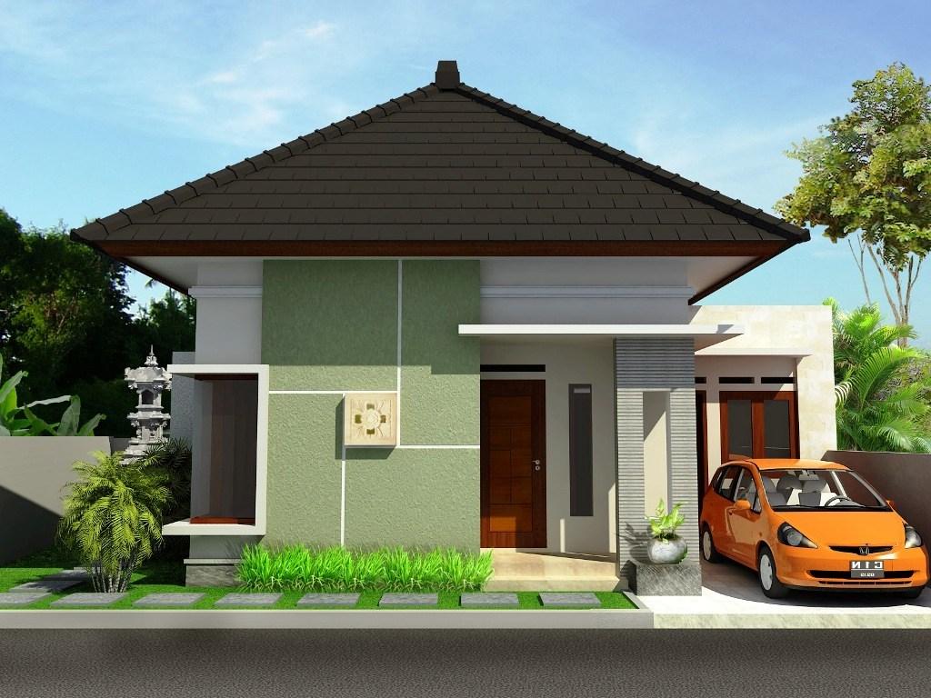 Gambar Desain Rumah Sederhana Indonesia Contoh Z