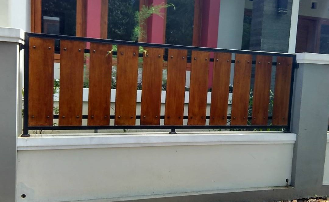 59 model pagar minimalis 2017 untuk rumah minimalis