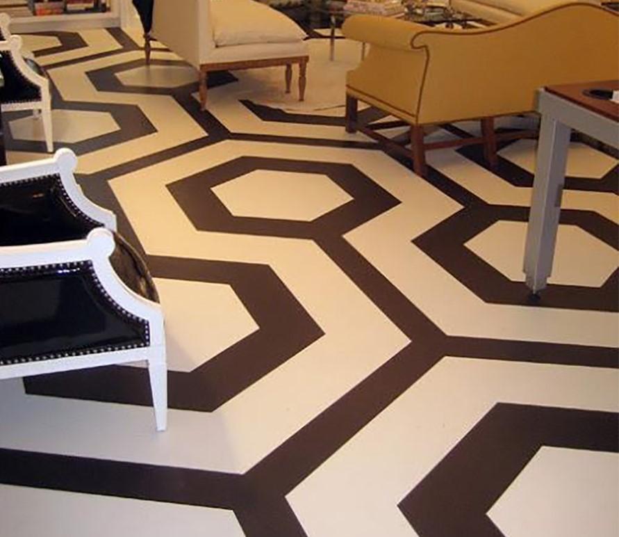 Keramik Lantai  Ruang Tamu Unik Desainrumahid com