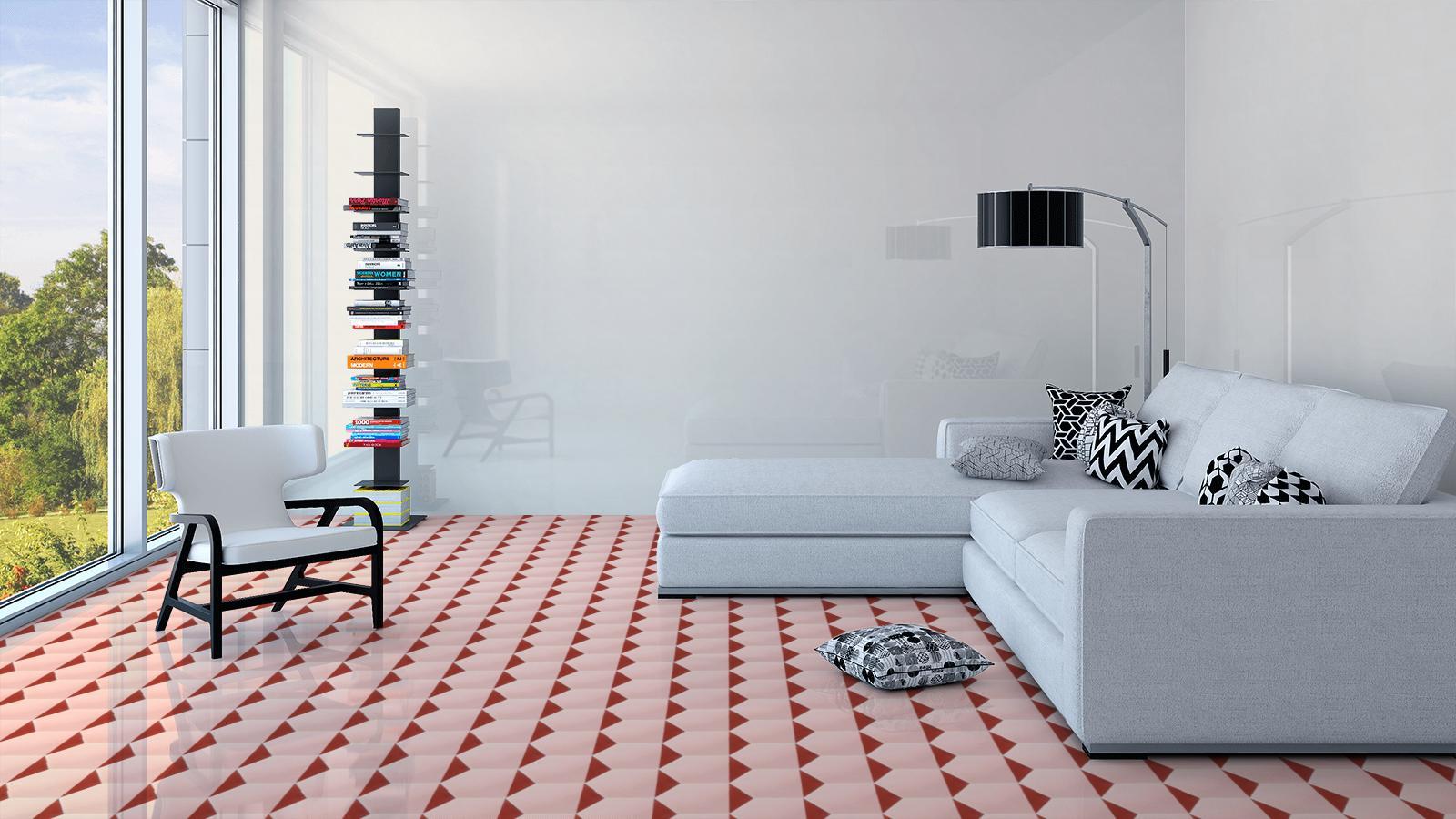 Motif Keramik Lantai Ruang Tamu Sederhana Terbaru