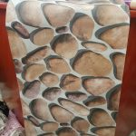 Motif Wallpaper Dinding Batu Alam 3d