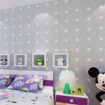 Motif Wallpaper Dinding Kamar Tidur Terbaru Berbentuk Bintang